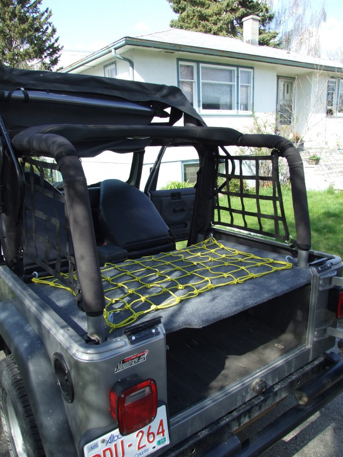 Jeep Tj Storage Box The Road Chose Me