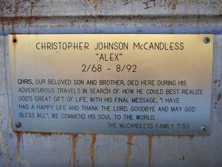 christopher mccandless plaque 320x240