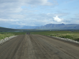 The Brooks Mountain Range (looking back)