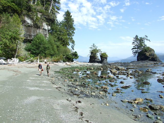 dan mike beach walking 640x480