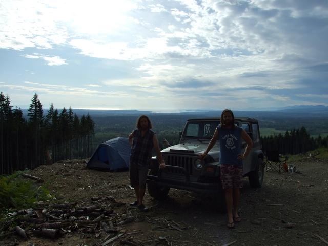 mike dan camping view 640x480