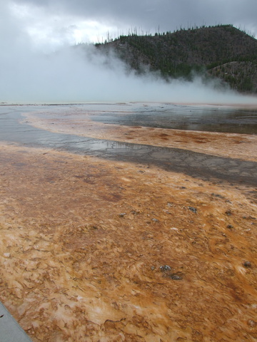Geothermal colors are everywhere