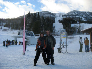 At Red Mountain, BC (xmas day 2006)