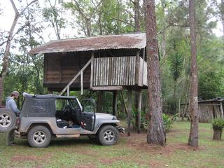 The tree house at Finca Ixobel