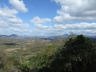 The beautiful mountains of Honduras