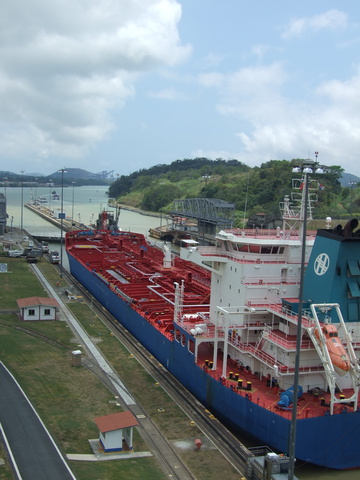 miraflores locks towards pacific 360x480