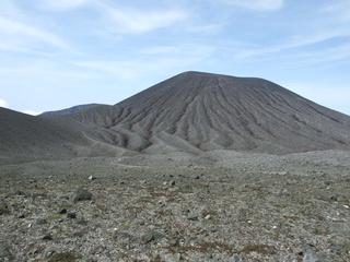 Von Seebach peak, an inactive volcano
