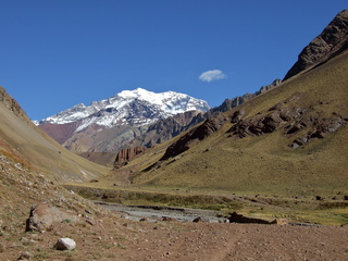 The ever-visible Aconcagua