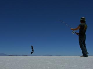 Warren fishing