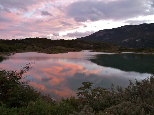 sunset tierra del fuego 640x480