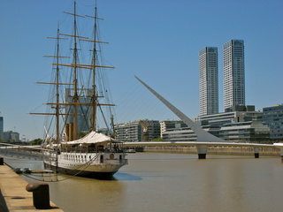 The waterfront of Buenos Aires