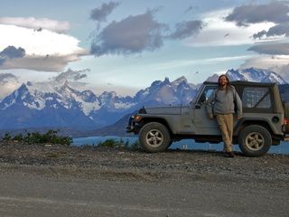 Arriving at Torres Del Paine National Park