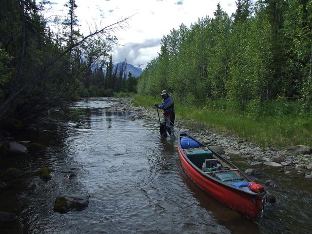 brett line solo canoe 640x480