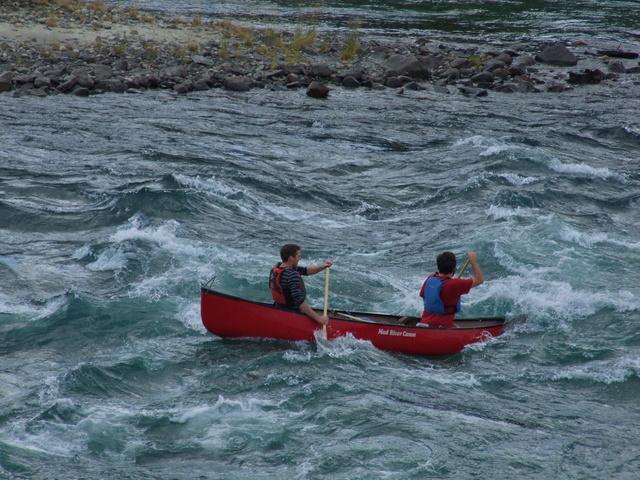 takhini jaws canoe 640x480
