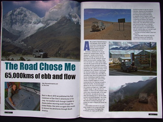 Jeep Action Magazine spread