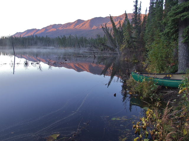 yukon mountain sunrise 640x480
