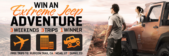 Extreme Jeep Adventure Banner 720x239