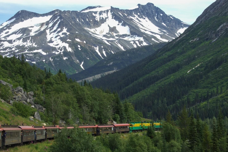 White Pass & Yukon Route Railroad in Skagway Alaska   The