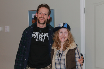 Dan & Heather, redneck style