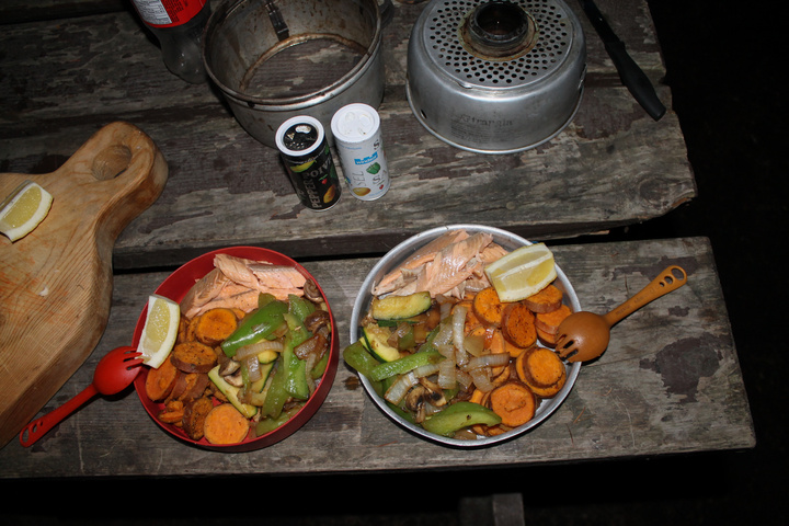 Fresh Alaskan Salmon for dinner!