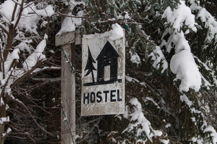 The Alyeska Hostel - an extremely friendly place to stay right on the mountain