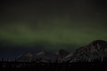Northern Lights over Annie Lake