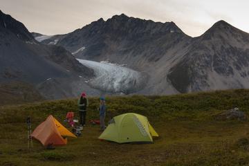 Camping at Samuel Glacier