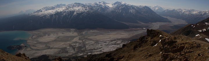 Kluane Lake and the Slims River Valley
