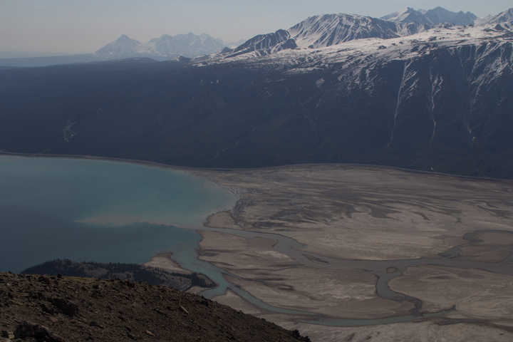 The end of Kluane Lake