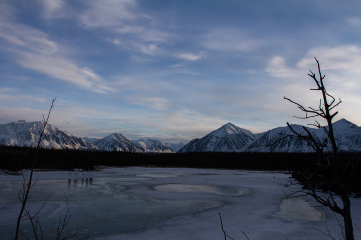 The mountains of Kluane National Park