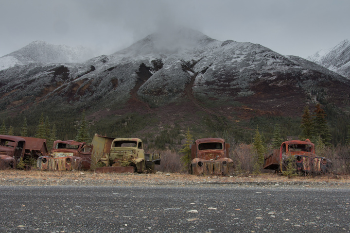 north canol old trucks 720x480