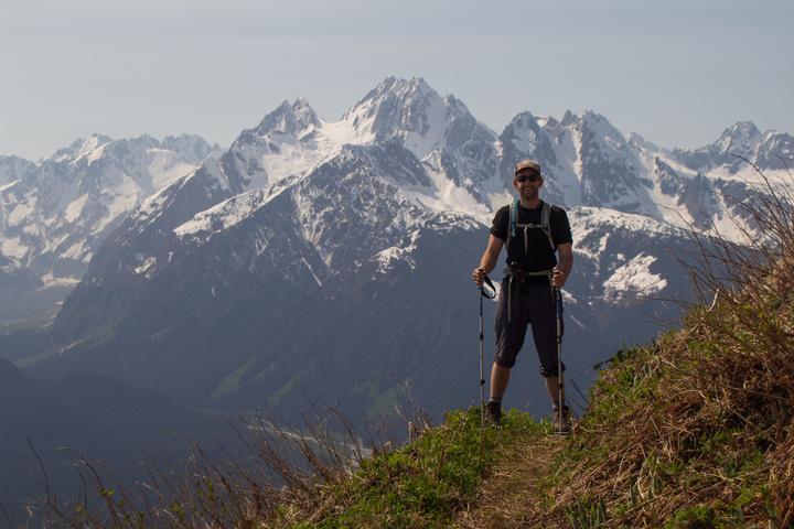 Dan Hiking