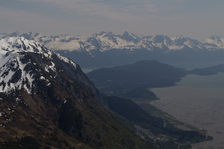 Haines from above