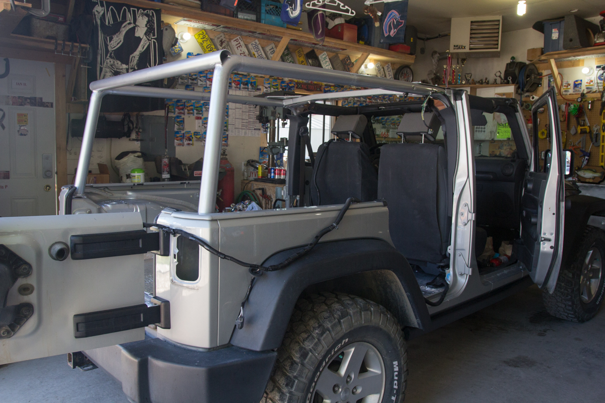 Jeep Build Phase 1 Complete The Road Chose Me