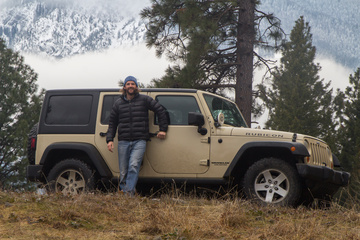 The replacement JK Wrangler that will go around Africa