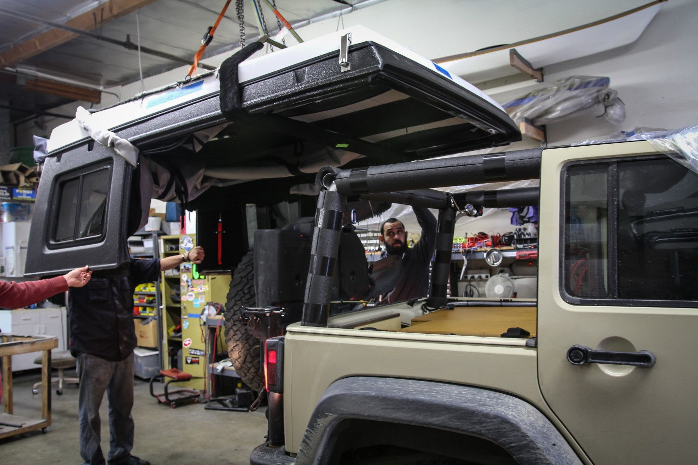Ursa Minor J30 going onto my Jeep & Ursa Minor J30 Pop Up Camper | The Road Chose Me