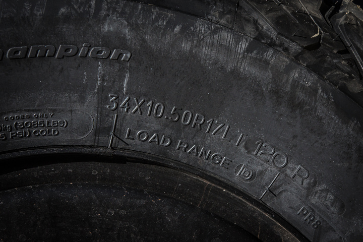 BFGoodrich KO2 All-Terrain Tires in 34x10.5r17