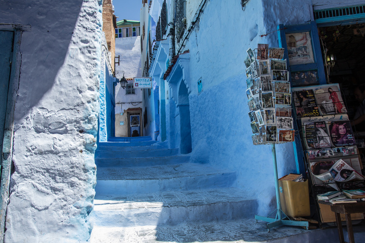chefchaouen blue stairs 720x480