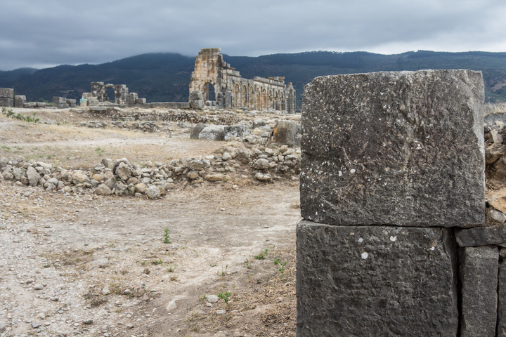 The stonework is very precise