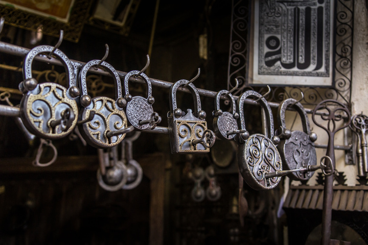 marrakech market handmade locks 720x480