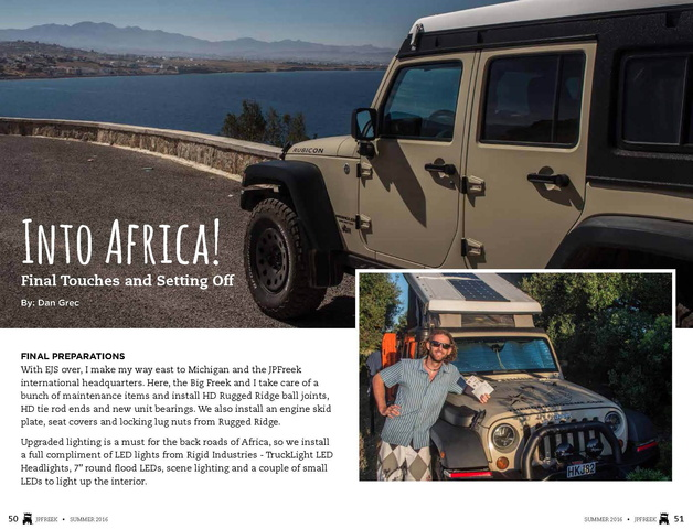 JPFreek Adventure Magazine