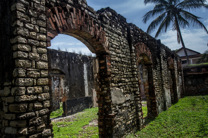 More colonial ruins