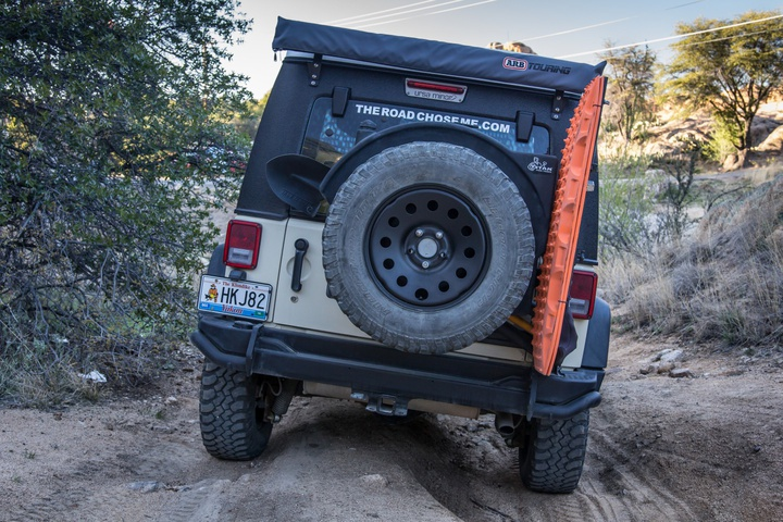 DIY Maxtrax on AEV Hi-Lift / Pull-Pall Accessory Mount
