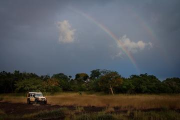 My remote campsite behind Sibi
