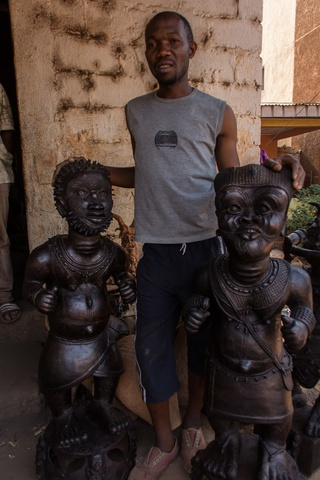 foumban musemum man making art huge pieces 320x480
