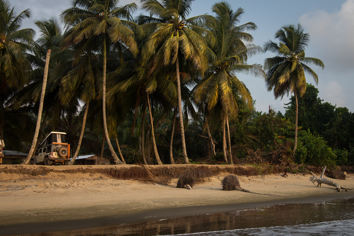 jeep africa beach palm trees 720x480