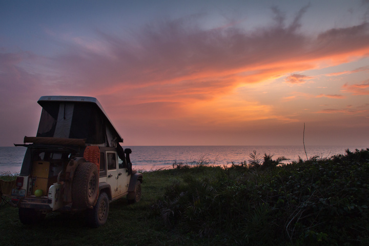 africa jeep sunset gabon loango 720x480