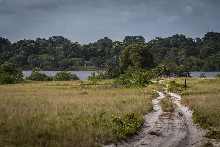 loango national park gabon sandy road 720x480