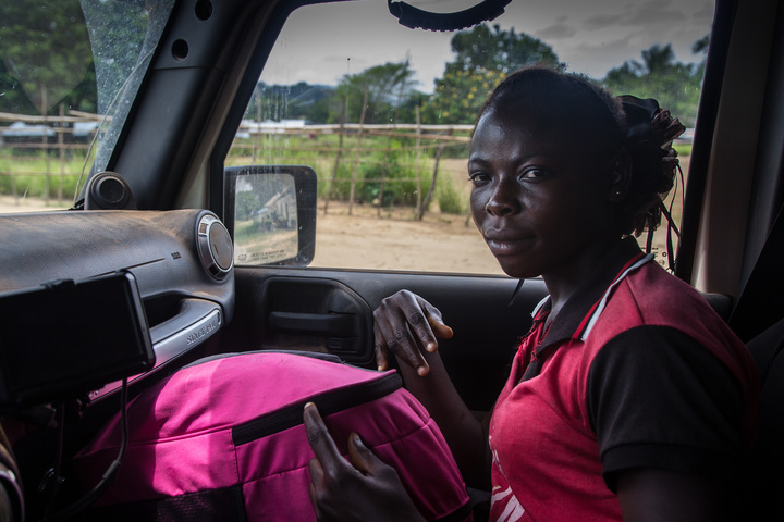 young lady in jeep congo 720x480