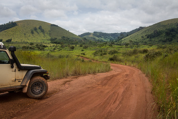 The green rolling hills of Congo have been staggering. This is South, getting close to DRC
